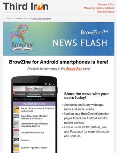 BrowZine Newsflash Android Smartphones Oct 2014